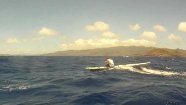 Beautiful OC1 Surfing at Molokai