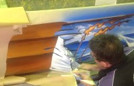 MOCC Canoe Airbrushing Project